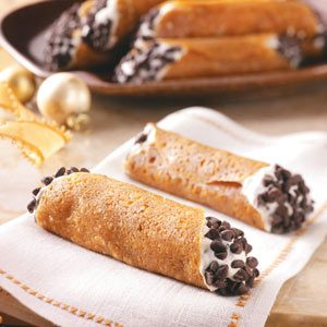 Brandy Snap Cannoli Recipe