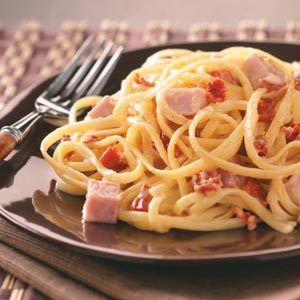 Ham & Sun-Dried Tomato Alfredo Recipe