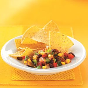 Presto Black Bean & Corn Salsa Recipe