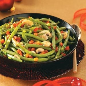 Fresh Green Bean Medley Recipe