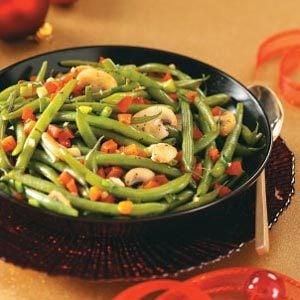 Fresh Green Bean Medley Recipe