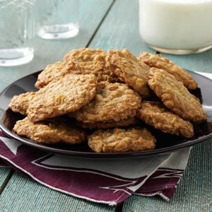 Toasted Oatmeal Cookies