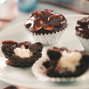 Coconut-Almond Fudge Cups Recipe