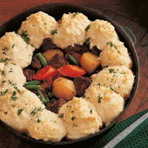 Beef and Biscuit Stew