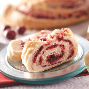 Orange-Cranberry Coffee Cakes Recipe