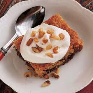 Chewy Date Torte Recipe