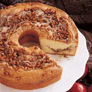 Apple Cream Coffee Cake Recipe