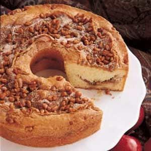 Apple Cream Coffee Cake