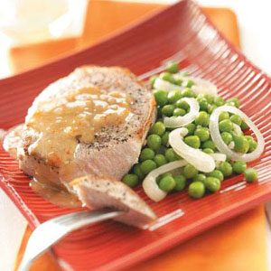 Simple Italian Pork Chops Recipe