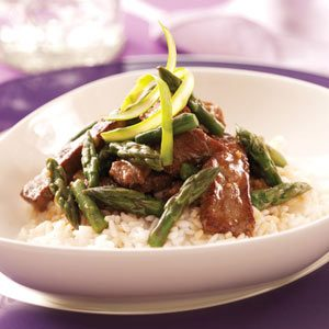 Gingered Beef Stir-Fry for 2 Recipe