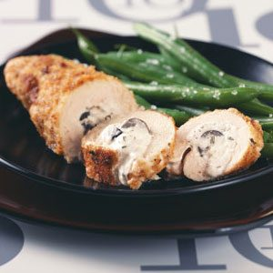 Creamy Olive-Stuffed Chicken Recipe
