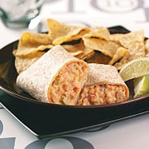 Hearty Bean Burritos Recipe