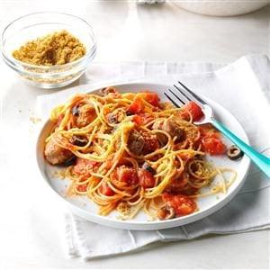 Simple Sausage Pasta Toss Recipe