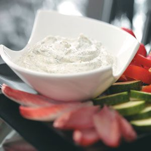 Quick Creamy Dill Dip Recipe