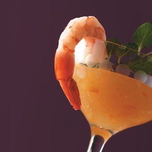 Shrimp with Orange Pineapple Sauce Recipe