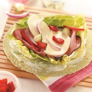 Pastrami Deli Wraps Recipe