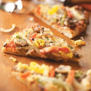 Traditional Philly Cheesesteak Pizza Recipe