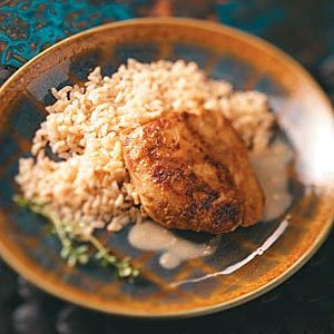 Gingered Chicken Thighs Recipe