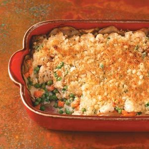 Potato-Crusted Chicken Casserole Recipe