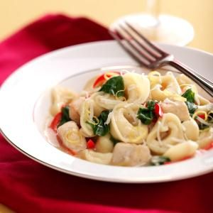 Lemon Chicken Tortellini Recipe
