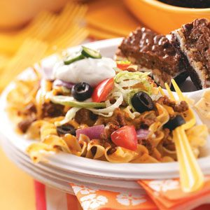Taco Noodle Bake Recipe