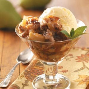 Caramel and Pear Pudding Recipe