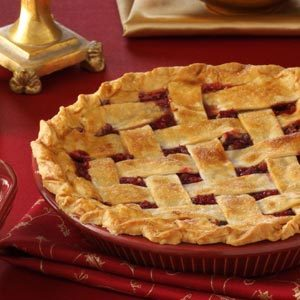 Cranberry Walnut Pie Recipe photo by Taste of Home