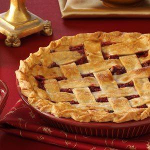 Cranberry Walnut Pie Recipe photo by Taste of Home