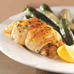 Flounder with Shrimp Stuffing for 2 Recipe