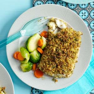 Pistachio-Crusted Fish Fillets Recipe