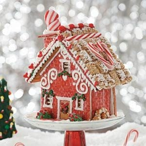 """Home Sweet Home"" Gingerbread Cottage Recipe"