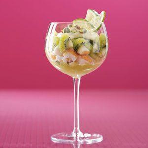 Kiwi-Pistachio Trifles Recipe