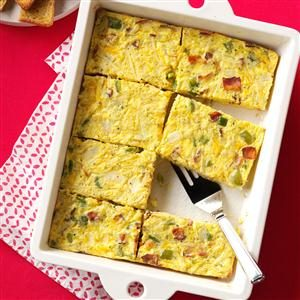 Sunday Brunch Egg Casserole Recipe photo by Taste of Home