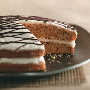 Makeover Two-Tone Spice Cake
