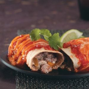 Makeover Gourmet Enchiladas Recipe