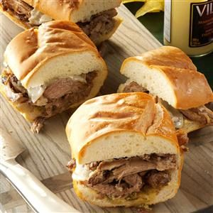 Cubano Pork Sandwiches Recipe