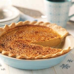 Holiday Pumpkin Pie Recipe