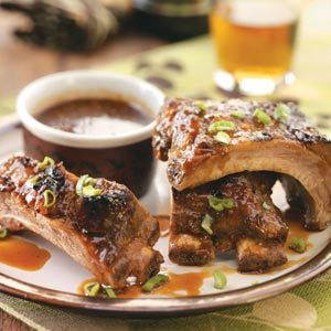 Asian-Style Baby Back Ribs Recipe