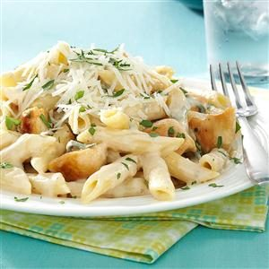 Penne Gorgonzola with Chicken Recipe