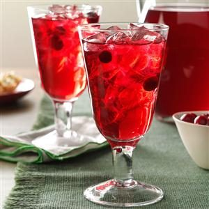 Sparkling Berry Punch Recipe