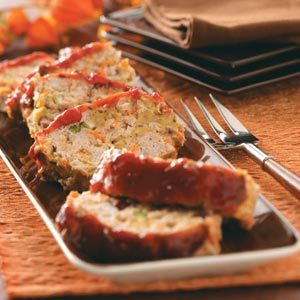 Just-Like-Thanksgiving Turkey Meat Loaf Recipe