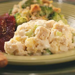 Turkey and Dressing Casserole Recipe