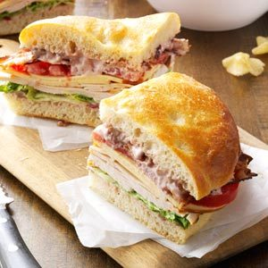 "Make tonight ""sandwich night."""