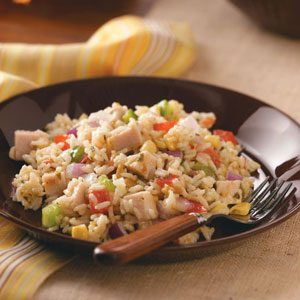Texas Confetti Rice Salad Recipe