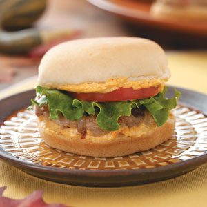 Turkey Sliders with Chili Cheese Mayo Recipe