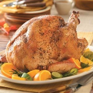 Roasted Citrus & Herb Turkey Recipe
