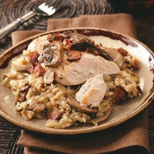 Herbed Chicken with Wild Rice Recipe