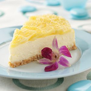 Pina Colada Cheesecake Recipe