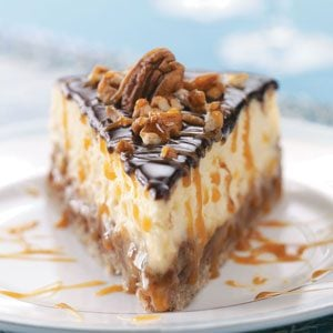 Layered Turtle Cheesecake Recipe