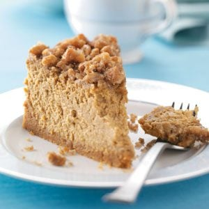 Pumpkin Walnut Cheesecake
